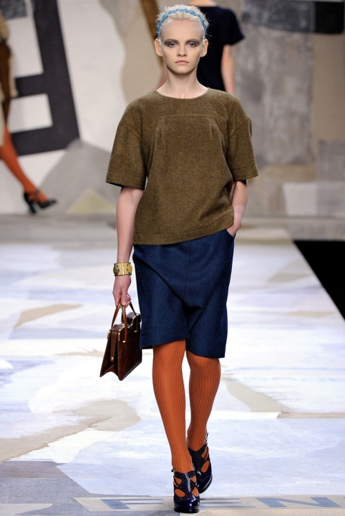 Ginta at Fendi A/W 2011.
