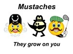 The American Mustache Institute has got my back.  National Wear-A-Mustache-To-School Day is fast approaching.  Join the cause. We have the support of the AMI.  Keep strong, mustache soldiers!  Coming soon: The support of the Institutes of Mustache in Every-Other-Country. Don't hesitate; join in anticipation.