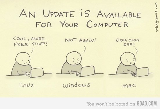 Updates…LOL Via