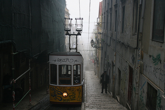 Misty Lisbon, Portugal (by seems33)