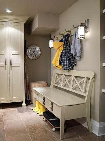 southerngracetx:  Laundry / Mud Room | Sarah Richardson Design