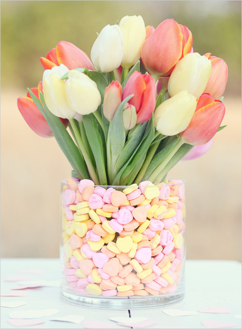 Love these center pieces good for a wedding, baby shower, any event really!