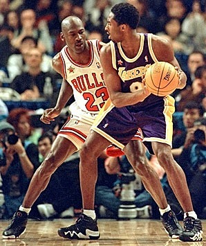 Kobe and MJ. #classic