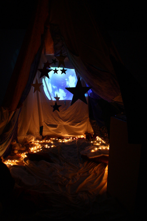 sweethomestyle:  submitted by jfk  I just want to be back in our blanket fort. Me and this boy I'm crazy about who I think is crazy about me. Warm and safe and together in every way. but we have to be thousands of miles apart and I'm cold and upset and alone and oh no. :( oh no.