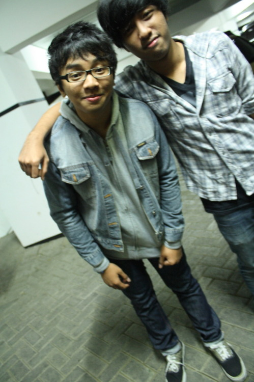 This is our founder (left to right) @ekywibii and @oxyaryawijaya