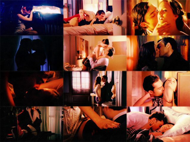 Chuck and Blair hotness | season 1-season 4