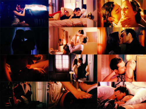 chair4ever:  Chuck and Blair hotness | season 1-season 4