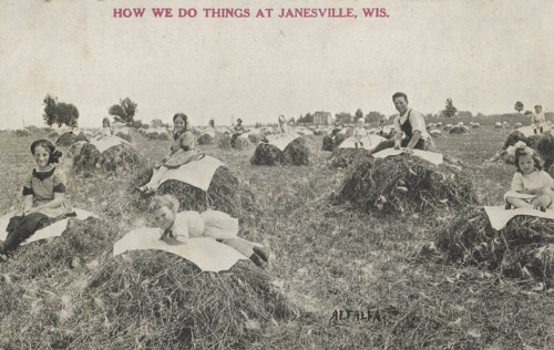 "Date unknown ""How We Do Things At Janesville, Wis."" (via Andy Kraushaar)"