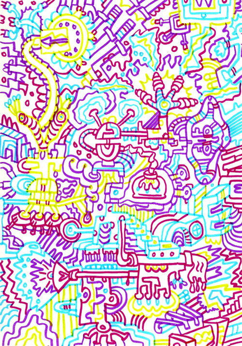 Color Doodle Happy All the pretty colors…
