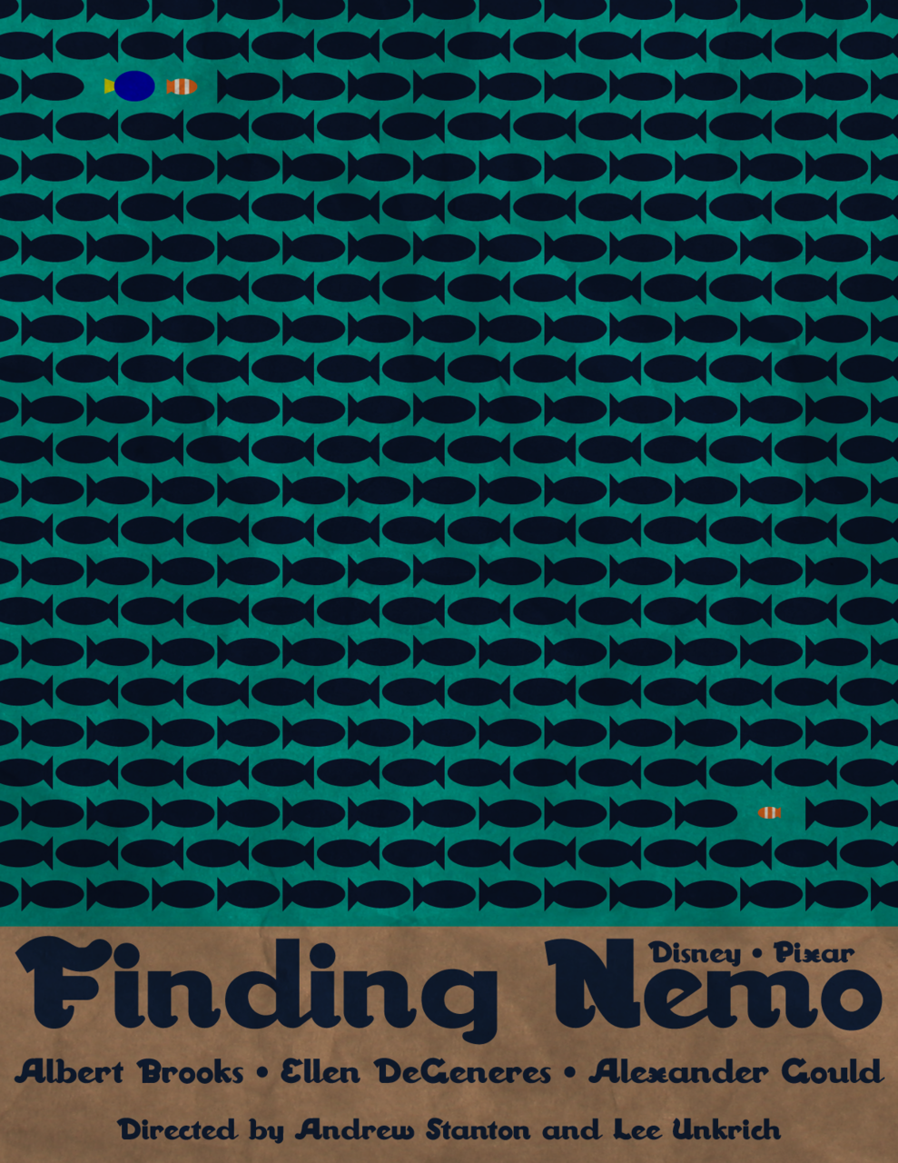 fuckyeahmovieposters:  Finding Nemo Made and submitted by Matt Bacon