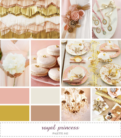 yourbigday:  Inspire. Palette #42: Royal Princess » Anastasia Marie: Handcrafted Cards & Stationery