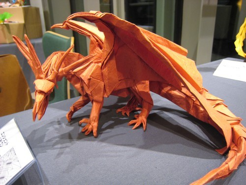 Ultimate goal of a worthy life : folding an Ancient Dragon D: