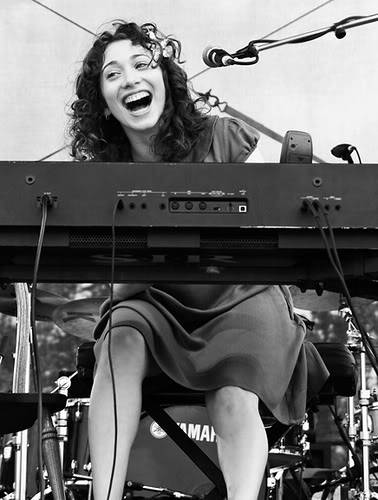 20 DAY REGINA SPEKTOR CHALLENGE Day 18- Favourite in-action performing picture Once again there are way too many to choose from, it would be impossible to choose a favourite. This one took at Bonnaroo 2007 is pretty darn cool… I like it a lot!