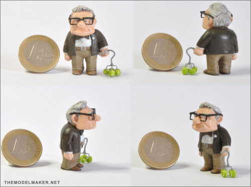 Carl figurine by ~artmik