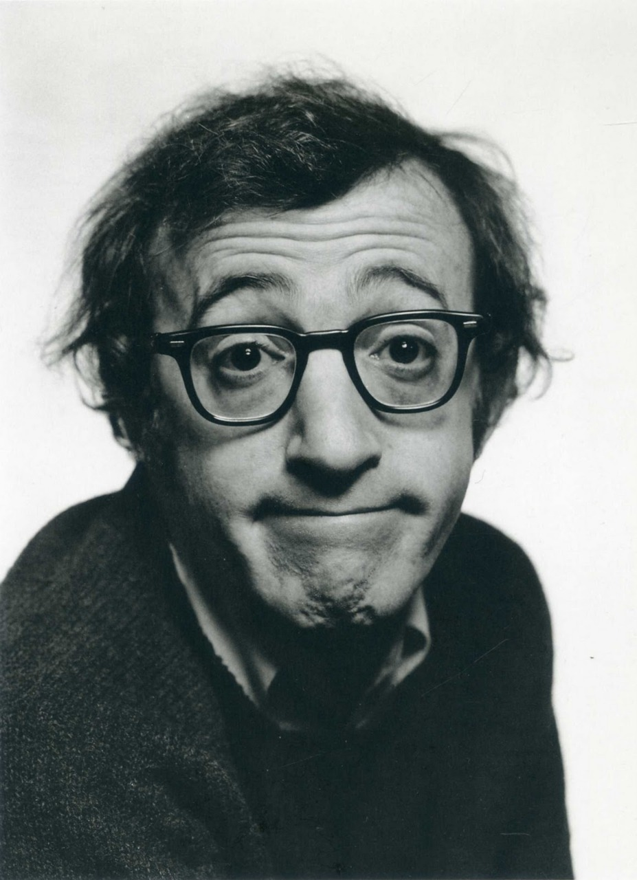 foralskelse:  Woody Allen by Philippe Halsman  i…love…woody…allen.  all i'm sayin.