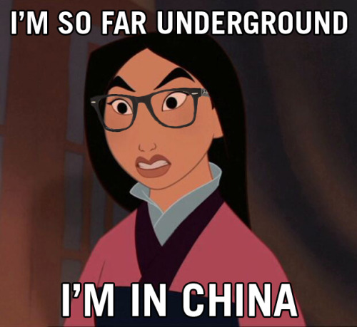 idroolinmysleep:  Hipster Mulan sets you straight. Beat that, you faux-hip American wannabes.
