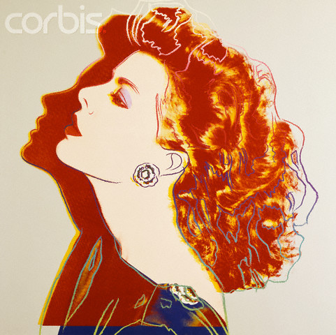Princess Caroline by Andy Warhol. 1983
