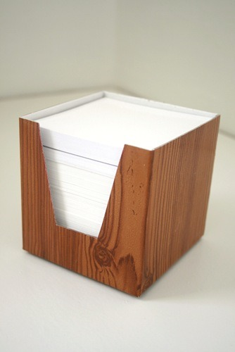 via Chez Larsson  recover an ugly paper holder to match your decor - good ideas come from this!
