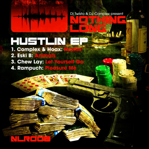 NLR008 - Hustlin EP Complex & Hoax / Eski B / Chew Lay / Rampuch on mp3 promo now only from http://www.nothing-long.com/