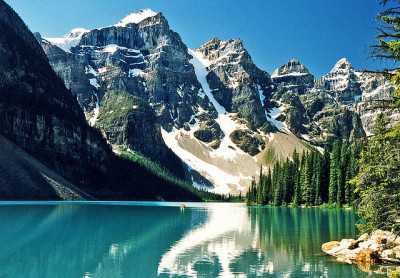 theworldwelivein:  Valley of the Ten Peaks, Moraine Lake, Alberta, Canada© Mike  Oh, Canada.