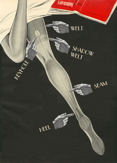 hoodoothatvoodoo:  Stockings  I wish real seamed stockings weren't so expensive. Mine are all fake.
