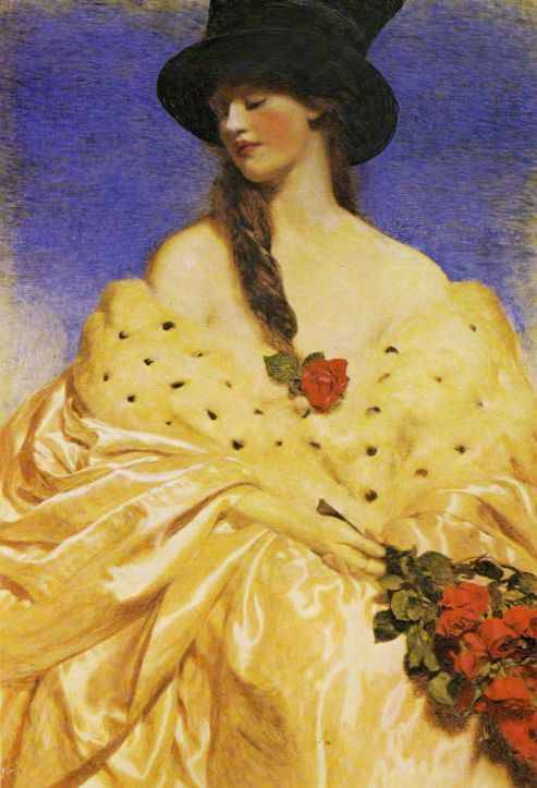 old-world:  Frank Cadogan Cowper : Eve 1919