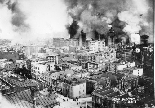 eastcoastbred:   San Francisco- 1906 Earthquake