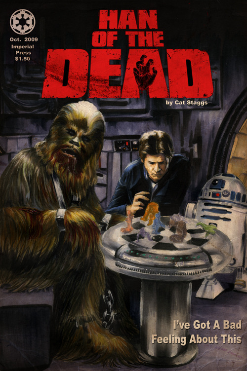 Han Of The Dead by *gattadonna