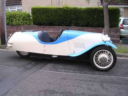 1936 Morgan Three-wheeler.