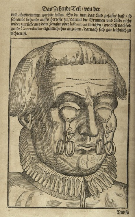 nends:  Georg Bartisch -Ophthalmodouleia (Dresden, 1583); earliest printed work devoted to diseases of the eye