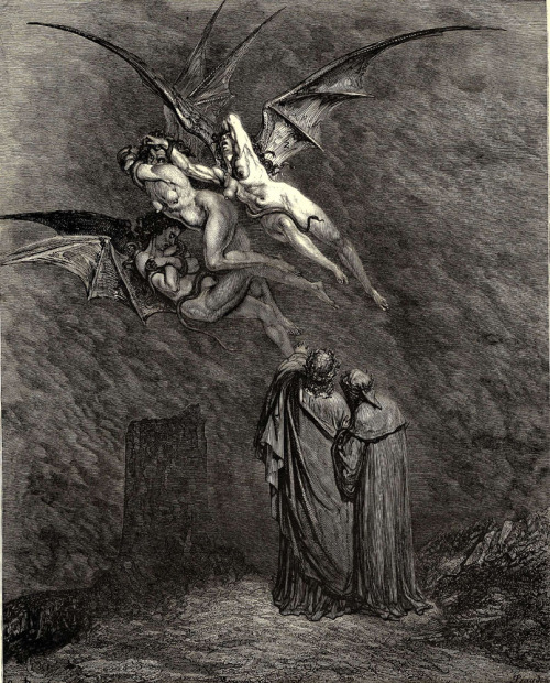 Ridiculously gorgeous, painstakingly detailed engraving by Gustave Dore