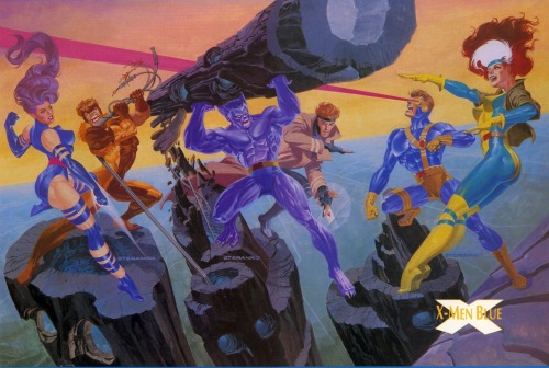 X-Men (Blue Team) by Steranko.