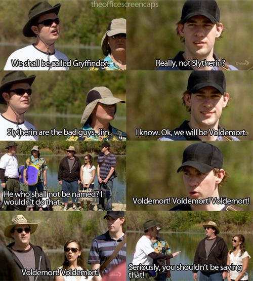 I love The Office. Especially Dwight Schrute.