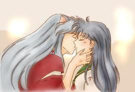 Kisses for Kagome.<3(: