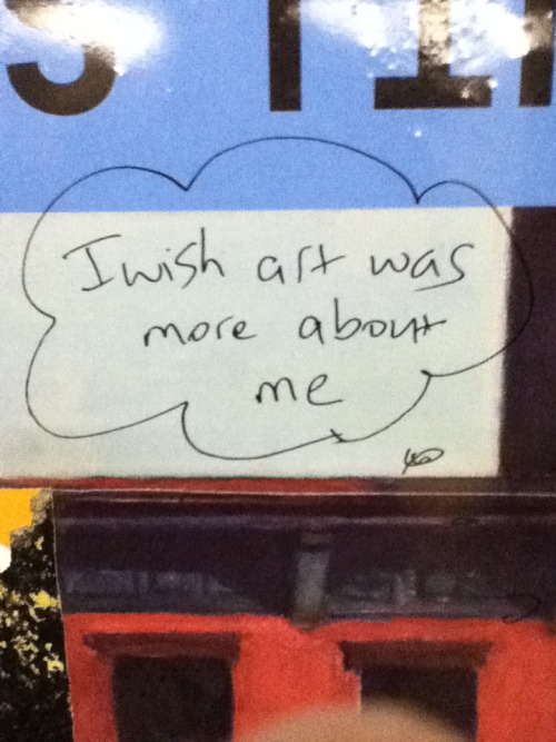 Seen somewhere in the subway system of New York City. ~Sam