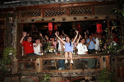 Partytime in Lijiang, Yunan, China