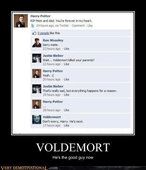 sohviwrites:  That's the spirit, Voldy!