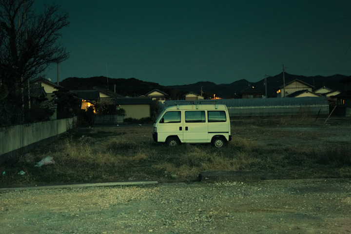 "COOL STUFF IN JAPAN 15 - ""IN A VAN DOWN BY THE RIVER"" If you don't know what famous SNL sketch is being referenced by my title than you are most likely a delinquent kid who could use a visit from motivation speaker Matt Foley. I'm embarrassed to even write this as I love my wife, but not only did Vicki NOT get the reference, she also went on to add that the van in this photo is nowhere near a river. I clearly married a delinquent who likes to rub it in. Damn."
