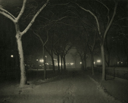 Alfred Stieglitz Ice Night, 1893