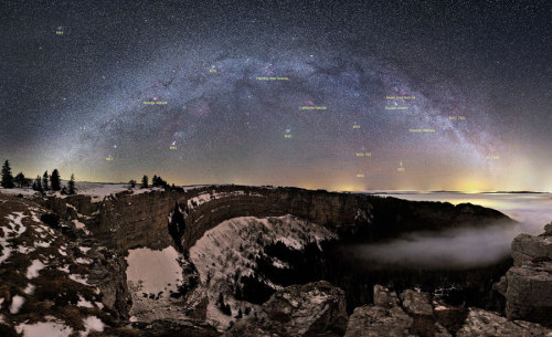 The Milky Way, shining over Switzerland like a boss.