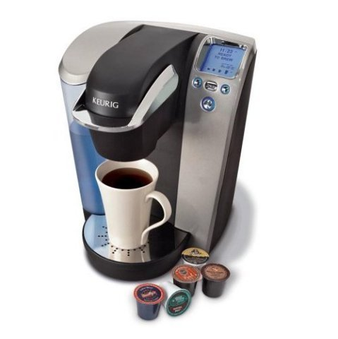 "this keurig platinum brewing system! my molly-mom got it for me, and i love it so much.  makes me happy, for sure!  ""A cup of coffee is a miracle. A miracle like a musical harmony, a   wonderfully compounded assemblage of relationships.""- H.E. Jacobs"