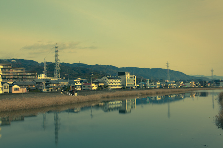 "PLACES OF JAPAN 10 - ""KOCHI RIVER""