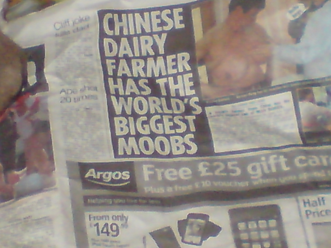 Moobs?  Really? The fact that he's a dairy farmer is just classic IRONY!!