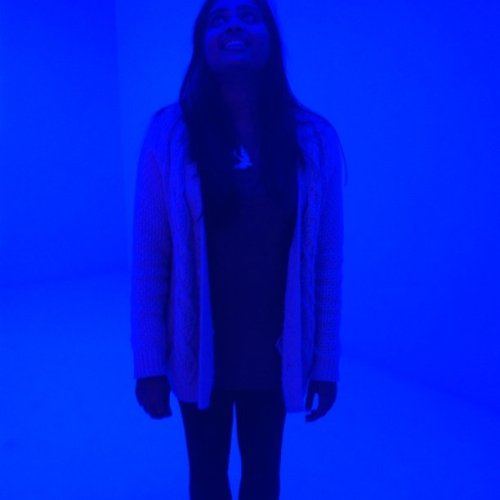 Blue (Taken with Instagram at The Geffen Contemporary at MOCA)