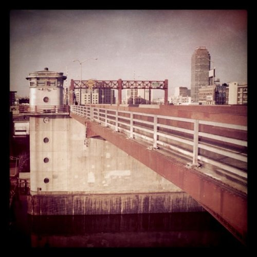 From my walk today (Taken with Instagram at Pulaski Bridge)