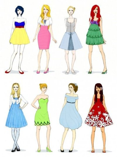 Contemporary Disney Fashion!
