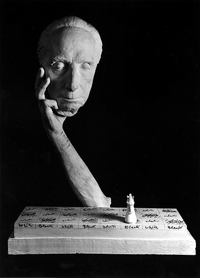 artemisdreaming:  Marcel Duchamp Cast Alive - Marcel Duchamp and Alfred Wolkenberg, 1967