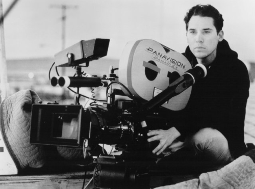 thefilmdirectory:  Bryan Singer on the set of The Usual Suspects (1995)   Again, if you haven't seen this movie - find it.