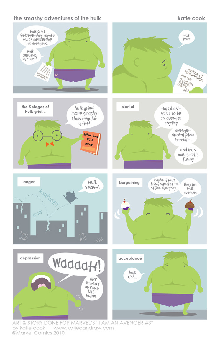 The Smashy Adventures of the Hulk by Katie Cook