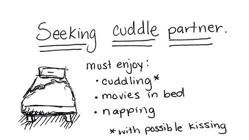 define cuddle